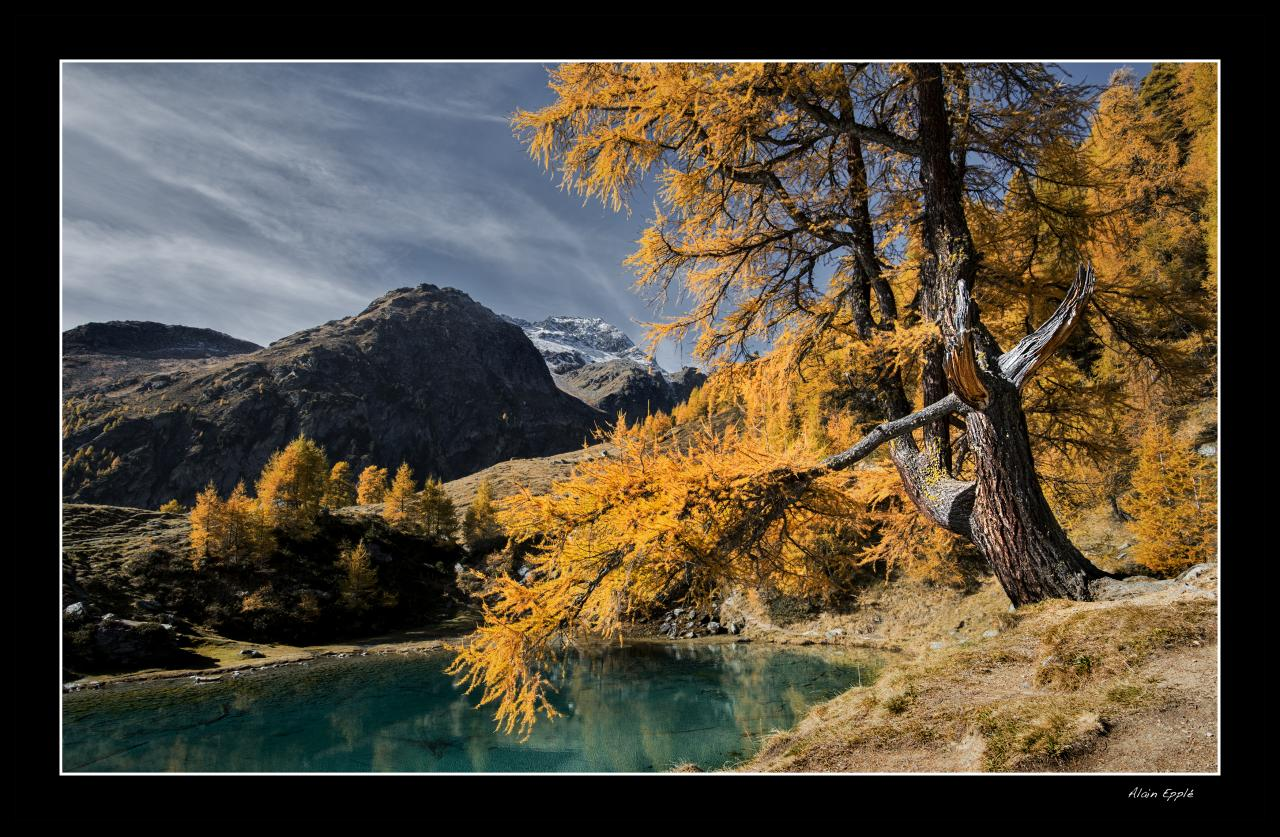 Lac Bleu dans le val d'Herens - CH14